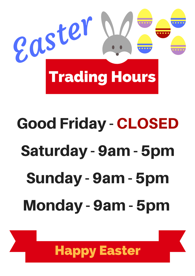 easter monday trading hours - photo #9
